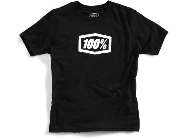 100% Essential T-Shirt Youths Black